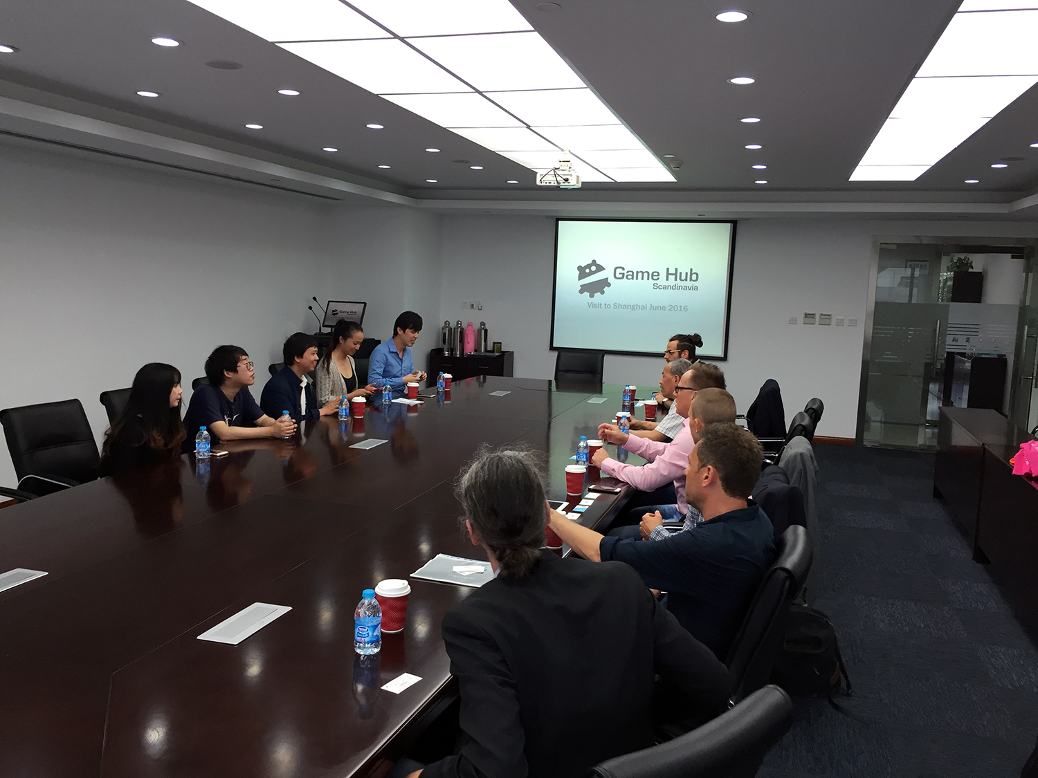 #1 Meeting with the Shanghai Incubator