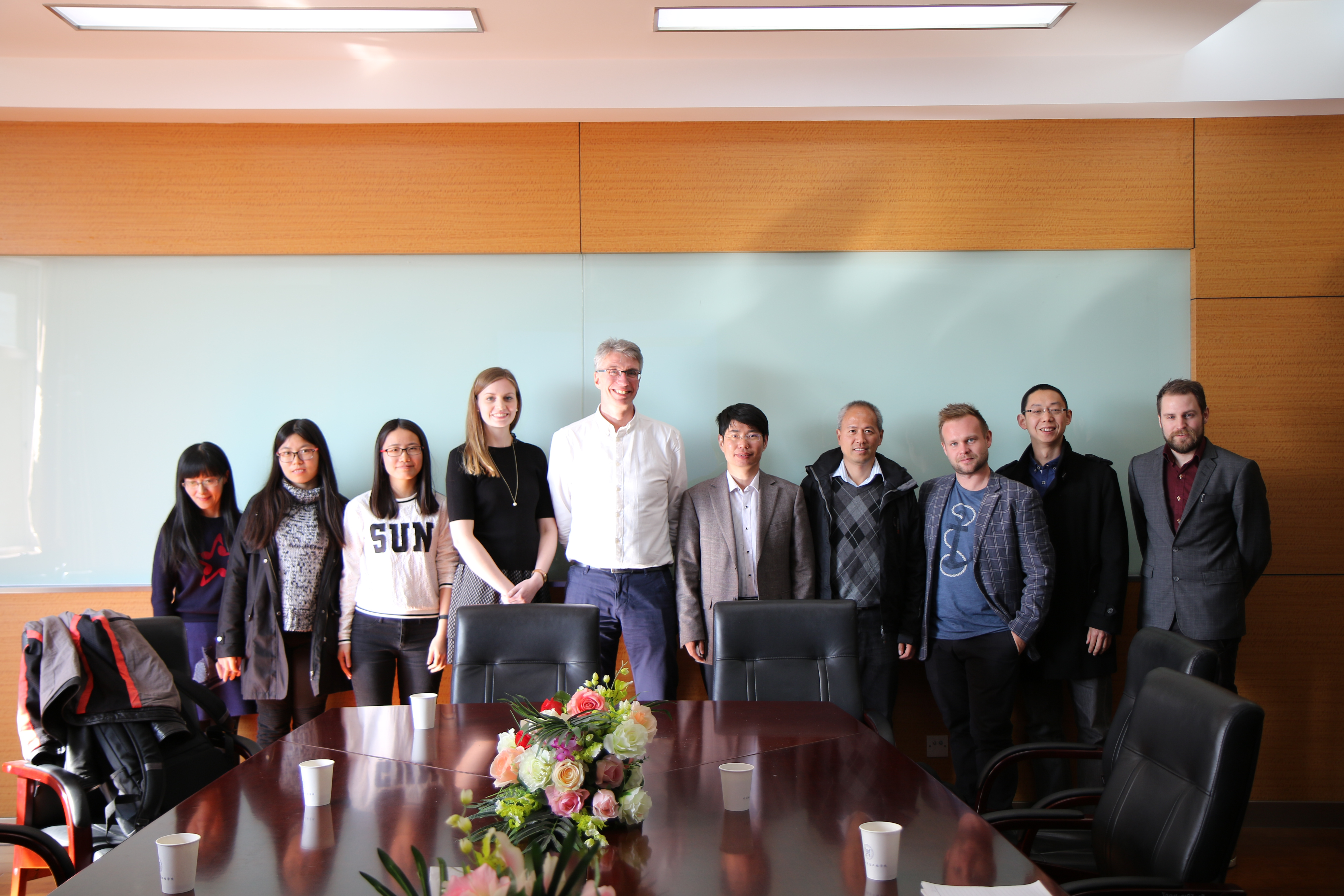 #1 Visit at University of Science and Technology Beijing