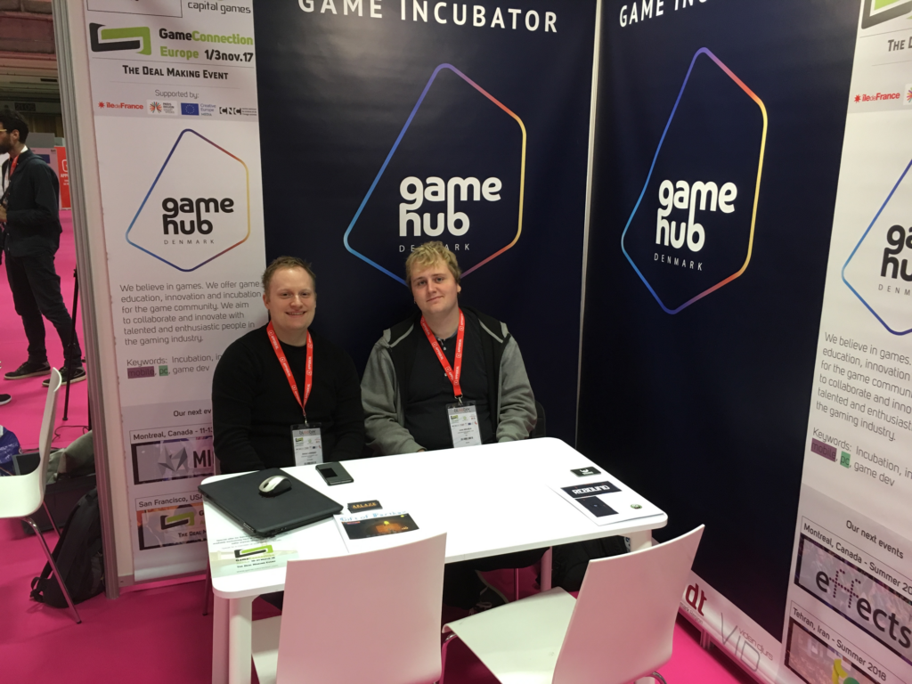 Game Hub Denmark at Game Connection in Paris