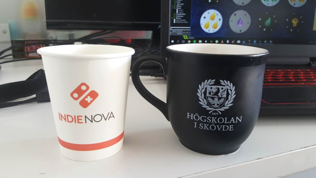 indienova and The University of Skövde cups