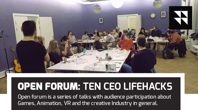 Open Forum: 10 CEO Lifehacks