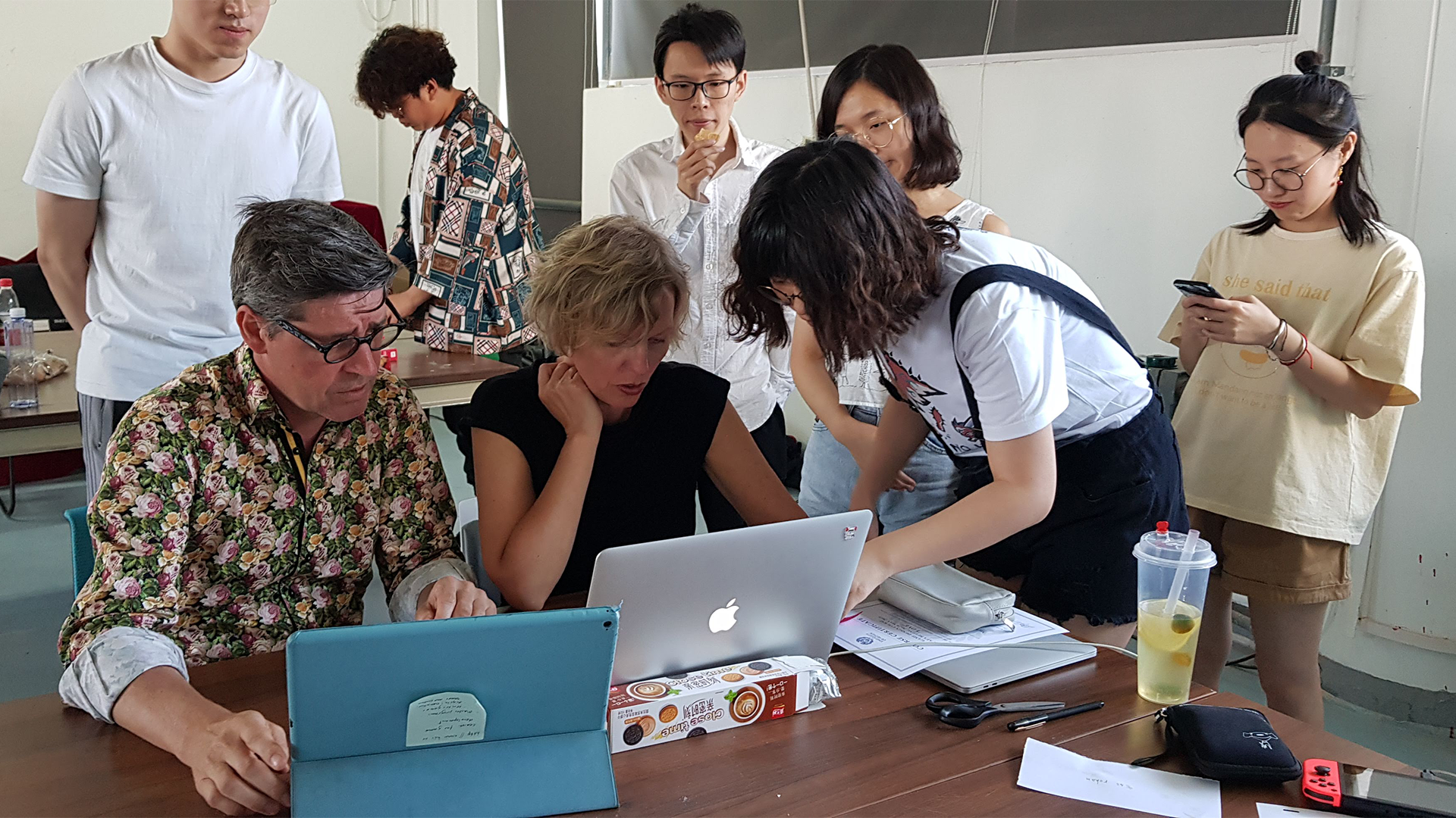 Workshop Beijing: Teachers from University of Skövde teaching