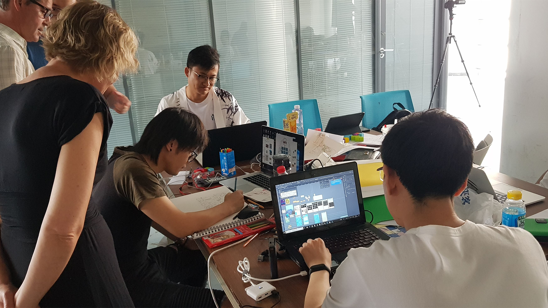 Beijing workshop, game development