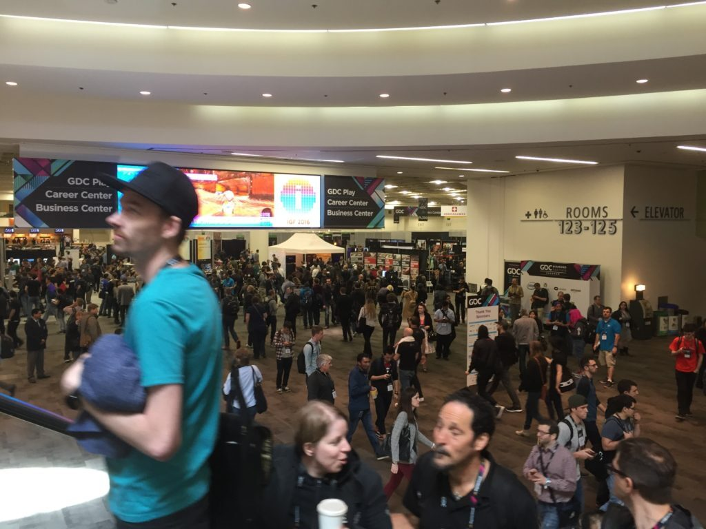From the Indie Hall at GDC