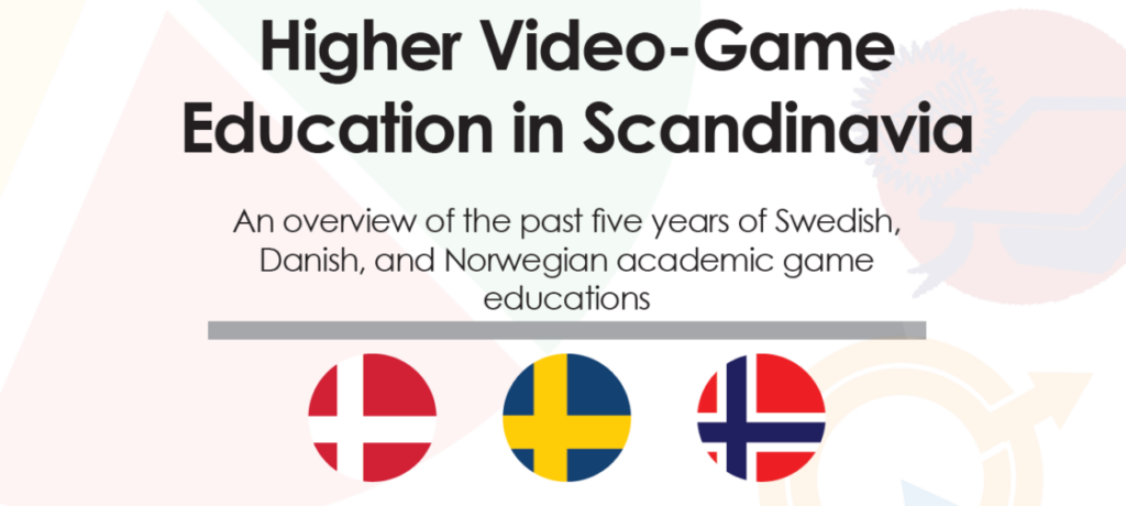 Higher Video-Game Education in Scandinavia