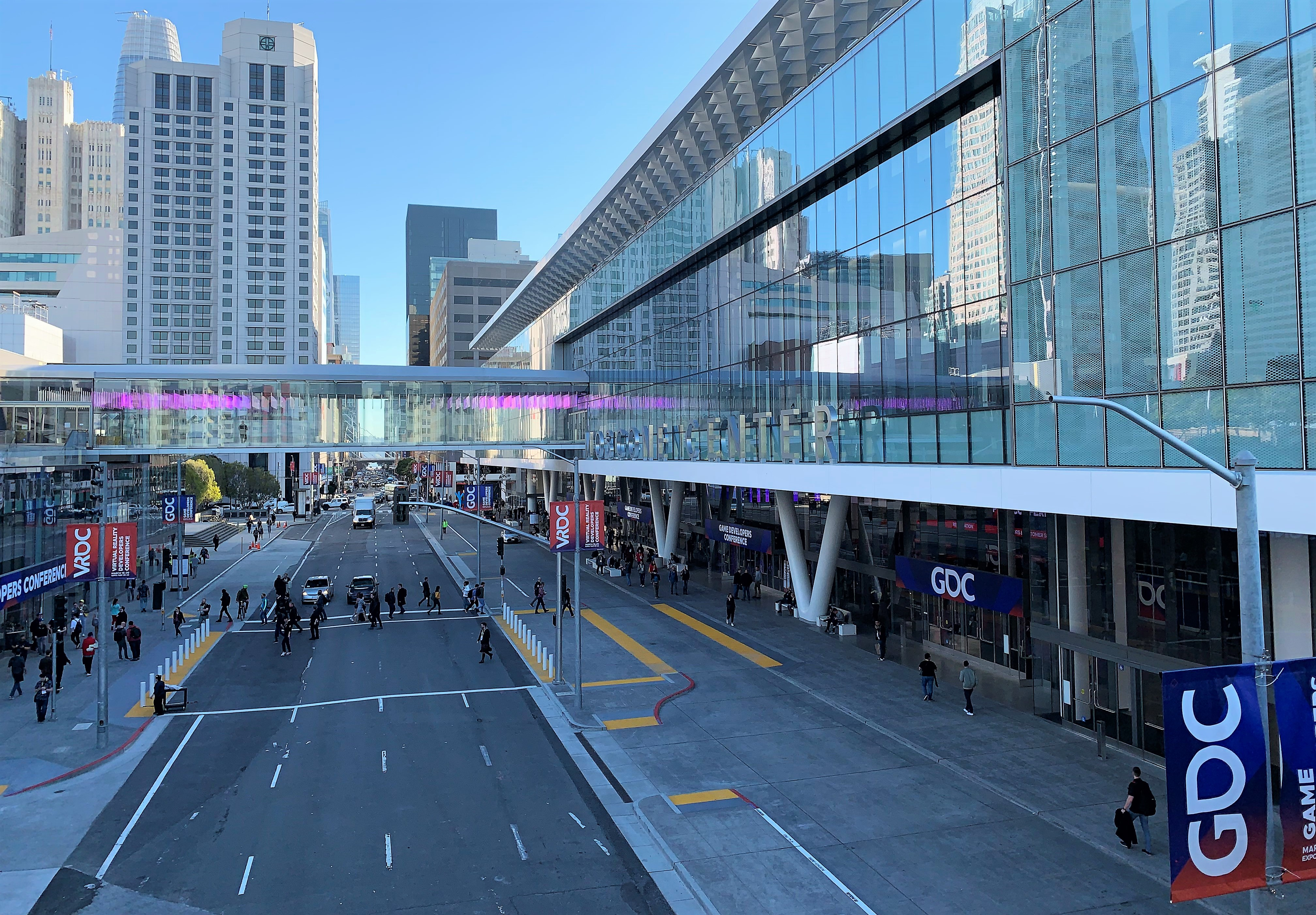 Game Developers Conference at Moscone Center, San Francisco