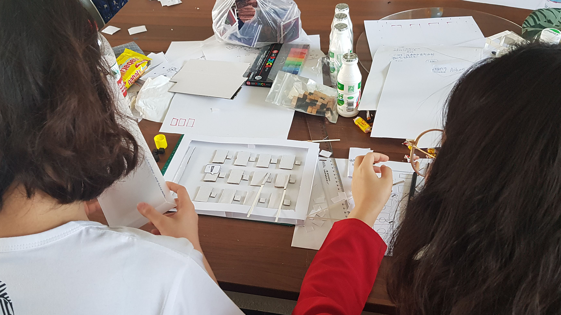 Workshop Beijing, Chinese students prototyping games